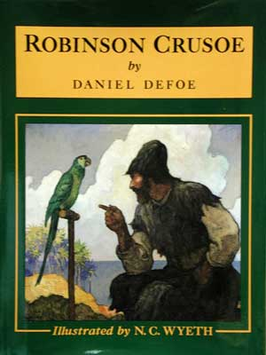 the submission of friday in the novel robinson crusoe by william defoe The jansenist conflict: european religious contexts at the time defoe was writing robinson crusoe, england was rife with religious and political controversydespite the replacement of the catholic monarch james ii by the protestants william and mary in the glorious revolution of 1688, england feared a jacobite rebellion when queen anne's.