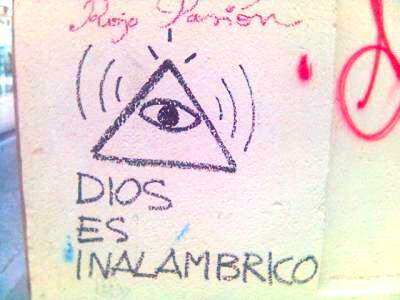 DIOS ES INALAMBRICO....